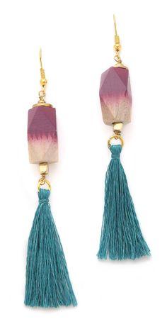bluma project Fringe Earrings | SHOPBOP
