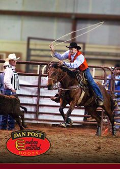 UTM Rodeo wears Dan Post Cowboy Certified Boots