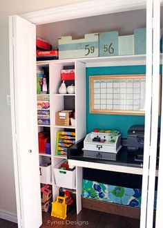 In Bad Need of Closet Storage So I Gave it a Makeover!