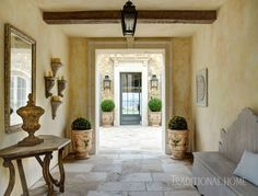 <p>Vintage materials and a commitment to quality make a new home feel centuries old—in a good way</p>