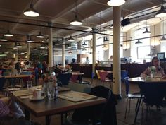 Salts Mill Cafe, Saltaire, Bradford, Yorkshire