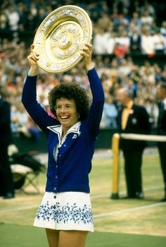 """""""Champions keep playing until they get it right.""""    Billie Jean King"""