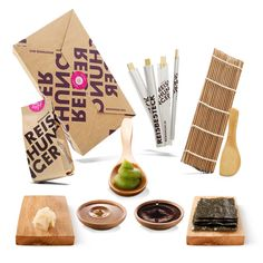 *Werbung* Reishunger Sushi Box - Orignal Japanische Zutaten bester Qualität - Für bis zu 4 Personen - Perfekt auch als Geschenk