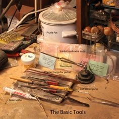 How to : Soldering Metals - lots of information - ideal for lights, LEDs and for metal filigree work and jewellery
