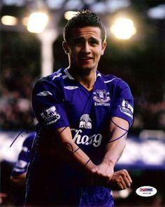 Jim Cahill Autographed 8x10 Photo Everton To John PSA/DNA #U54238