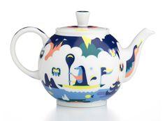 Crate & Barrel teapot on Behance