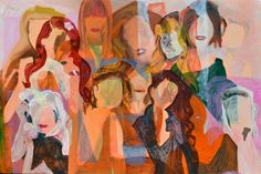 Cover girls painting by quaymberley b dudley Iphone Wallpaper Video, Iphone Gadgets, Teen Art, Phone Logo, Dark Backgrounds, Cute Gif, Girl Wallpaper, Covergirl, Cute Love