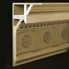 Creating Crown molding details