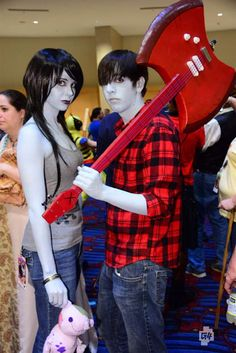 Marceline And Marshal Lee Cosplay