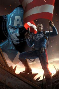 Captain America by Marko Djurdjevic