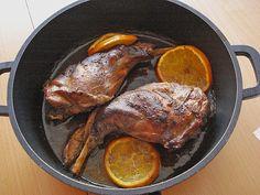 Chefkoch.de Rezept: Portugiesisches Kaninchen mit Orangen