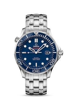 Seamaster Diver 300 M Co-Axial 41 mm - ステンレススティール & ステンレススティール - 212.30.41.20.03.001