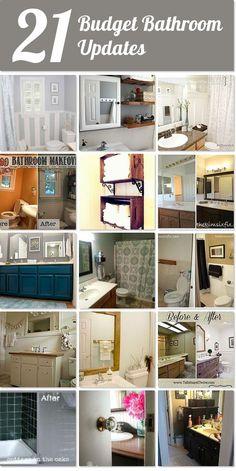 148 best budget bathroom makeovers images on pinterest in 2018