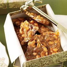 easy and quick......peanut...or cashew...or pistachio...or whatever you want brittle...... :-)