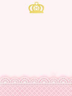 Kit digital gratuito para imprimir Princess - Coroa de Princesa Rosa! | Montando minha festa