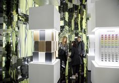 """""""Collaboration Elements"""" by LG Hausys - Milan Design Week 2016. ©Tiziana Arici"""