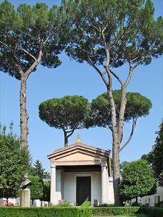 Reconstruction of a minor Etruscan temple at Alatri, Etruria
