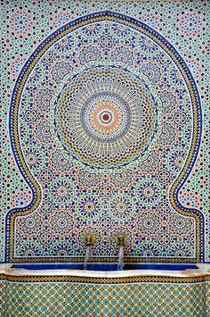 Zellij Fountain by teohwp85, via Flickr