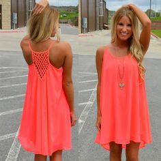 Women beach summer dress chiffon female women dress 2016 new fashion bow solid casual dress