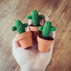 This adorable tiny cactus is handmade with tons of love and is ready to brighten up your home or office. It stands at an itty bitty inches tall! It is knit with acrylic yarn and then planted in a small terra cotta pot (your choice of colour). Mini Cactus, Cactus Art, Cactus Flower, Cactus Decor, Easy Diy Crafts, Handmade Crafts, Cactus Pattern, Crochet Cactus, Card Patterns