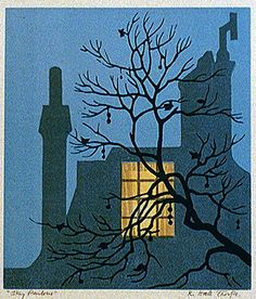 Modern Printmakers: John Hall Thorpe: early colour woodcuts