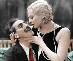 More Thelma Todd. I couldn't resist this shot of her with Groucho Marx.