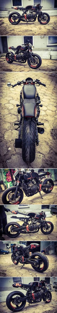 Honda CB600 Hornet Café Racer by CardsharperCustoms