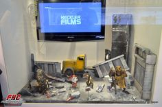 Toy diorama, shown in Taiwan at our show hosted by Beast Kingdom Toys, in April 2013