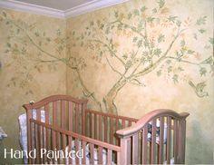 gentle tree wall
