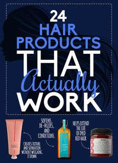 24 Hair Products That Actually Work!  See more #beautytips at bellashoot.com!