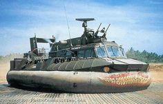Army issued PACV (Patrol Air Cushion Vehicle) during the Vietnam War Royal Navy, Us Navy, Brown Water Navy, Military Crafts, Soviet Navy, Vietnam War Photos, Landing Craft, Cool Boats, Military Pictures