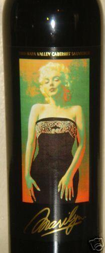 Marilyn Monroe 1999 Napa Cabernet Sauvignon Red Wine New Full Sealed Mint…