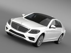 Amg Mercedes Benz S 500 3D Model - 3D Model