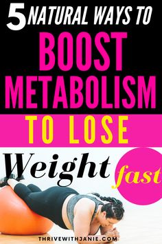 Your metabolism is holdig you hostage to weight gain. Naturally boost your metabolism to start losing weght. Boost weightloss by boosting metabolism. Here are 5 tips based on science to help you lose weight by revving and making your metabolism faster Ways To Boost Metabolism, Slow Metabolism, Ways To Lose Weight, Weight Gain, Instant Weight Loss, Weight Loss Secrets, Natural Lifestyle, Natural Solutions, Eat Right