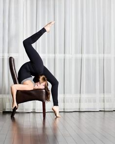 yoga props (this looks so uncomfortable)