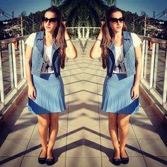 Tem mais #lookdodia como #correspondenteds no Blog! Corre lá pra ver todos os detalhes ;) www.fashionflats.com.br #fashionpost #fashionblogger #blogger #blogueirascariocas #ootd #dujour #dodia #disantinni #itgirl #miallegra #jeans