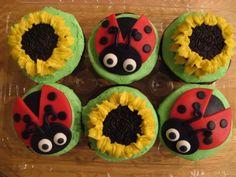 Ladybugs & Sunflowers