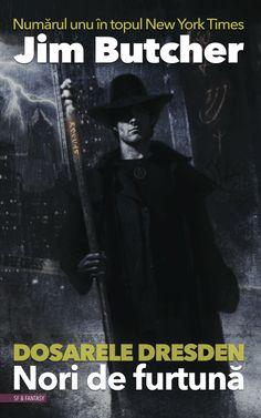 ro-nori-de-furtuna-jim-butcher-storm-front Storm Front, Dresden, New York Times, Verona, Paranormal, Science Fiction, Darth Vader, Urban, Reading