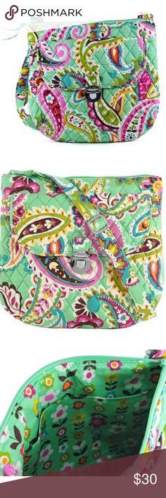 Vera Bradley Tutti Fruitti Crossbody saddle bag Details in last pic Vera Bradley Bags Crossbody Bags