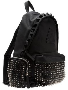 Bags & Accessories: spiked back pack