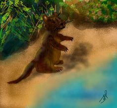 Game draw in DS2 6/27/14 OTTER BY Julie Payne