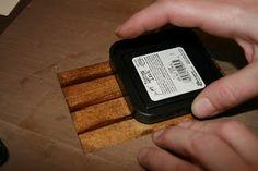 Effetto legno (con i Distress)