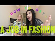 How to get a job in the fashion industry | Advice - http://LIFEWAYSVILLAGE.COM/how-to-find-a-job/how-to-get-a-job-in-the-fashion-industry-advice/