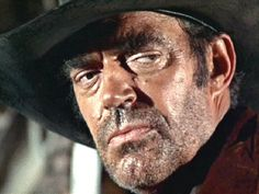 """A quintessential Jack Elam look, from """"Once Upon a Time in the West. Hollywood Actor, Hollywood Stars, Classic Hollywood, Jack Elam, Real Tv, Sergio Leone, Westerns, The Virginian, Famous Names"""