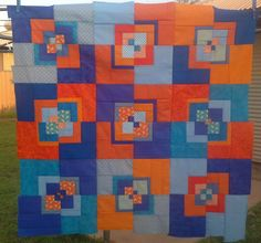 Patchy Work of Mini Grey: WIP Wednesday - A Finished Quilt Top.
