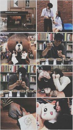 Couple Ulzzang, Korean Boys Ulzzang, Ulzzang Boy, We Bare Bears Wallpapers, Panda Wallpapers, Cute Wallpapers, Bear Wallpaper, Couple Wallpaper, Friend Pictures