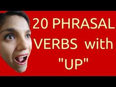 Los 20 phrasal verbs con UP más comunes! - YouTube Phrasal Verbs With Up, English Book, Music Videos, Youtube, Novels, Learning, Books, English Grammar, Learning English