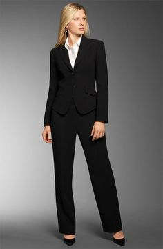 7c5eb69456543 Perfect suit for interviews or career day. #business #professional Business  Professional Attire Women