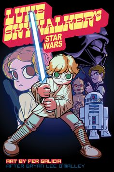 Star Wars - Scott Pilgrim Style!