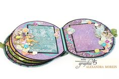 Hello, G45ers!Today we have Brand AmbassadorAlexandra Moreinhere with her fabulousFairie Dust Handmade Box & Album. We love the clean finishing and layered cover imagery. The round album is the perfect compliment, both functionally and aesthetically. Check it out below.Weekly Blog Con